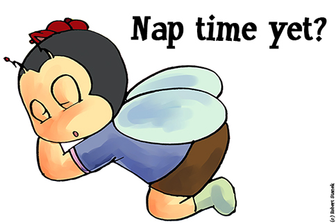 Nap time yet?