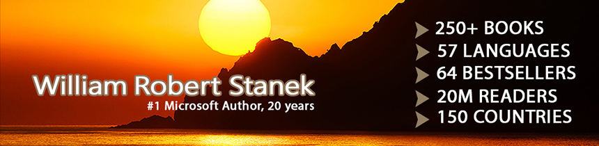Celebrating author Robert Stanek and his books
