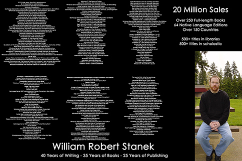 Celebrating 250th book with Robert Stanek