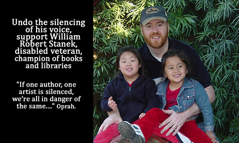 Undo the silencing of his voice